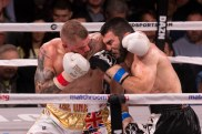 On October 6, 2018, in Chicago, Illinois, Artur Beterbiev successfully defended his IBF Light Heavyweight belt by KOing Callum Johnson in the fourth round.