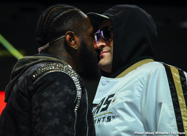 wilder & fury nez contre nez
