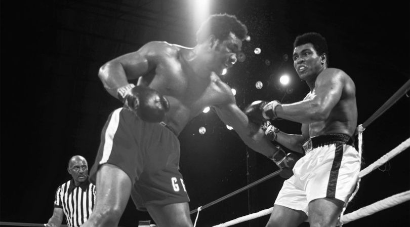 George-Foreman vs Ali