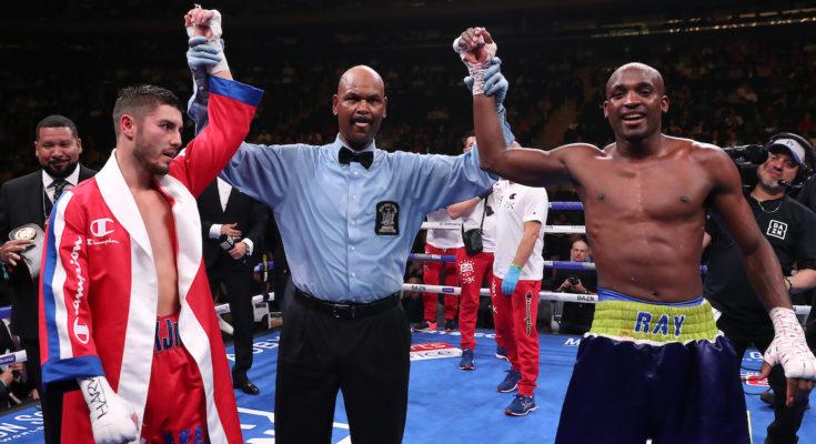 Boxing: Josh Kelly vs Ray Robinson